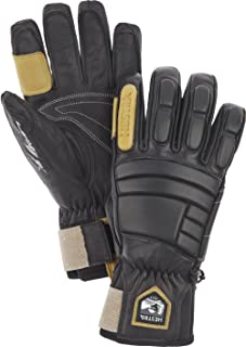 Waterproof Ski Gloves: Mens and Womens Pro Model Leather Winter Gloves