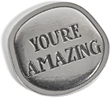 product image for Crosby & Taylor You're Amazing! Lead-Free American Pewter Sentiment Coin