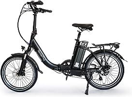GermanXia® Premium E-Bike E-Faltrad/Klapprad Mobilemaster Touring Plus CH 9G Shimano, 250W HR-Antrieb/15,6 Ah, bis 140...
