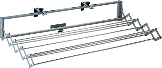 The Original Smartdryer Indoor/Outdoor Retractable Clothes Drying Rack - Ideal for Your RV, Balcony, Pool Side or Laundry Room - Full Size Version - 46 Inch