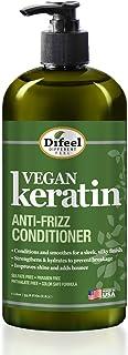Difeel Vegan Keratin Anti Frizz Conditioner 33.8 oz - Cruelty Free Vegan Conditioner