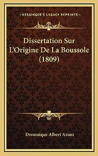 Dissertation Sur L'Origine De La Boussole (1809)