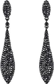Best gunmetal grey drop earrings Reviews