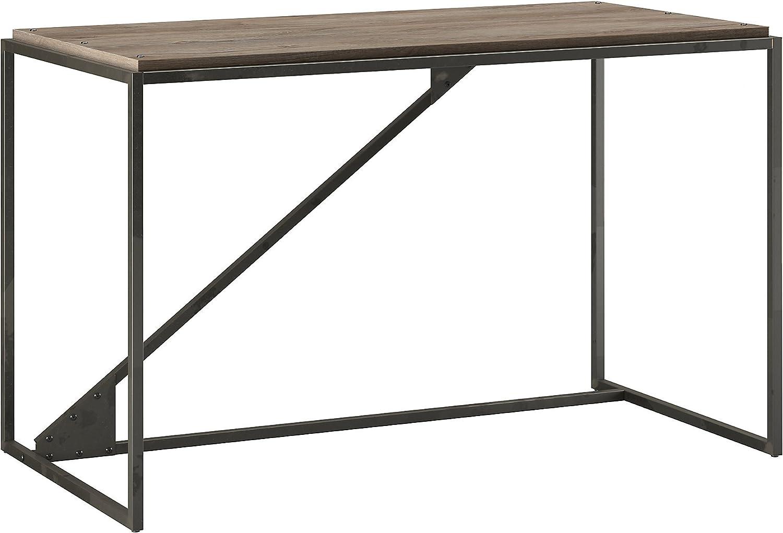 Bush Furniture Refinery 50W Industrial Rustic Ranking TOP12 Sale SALE% OFF in Desk Gray