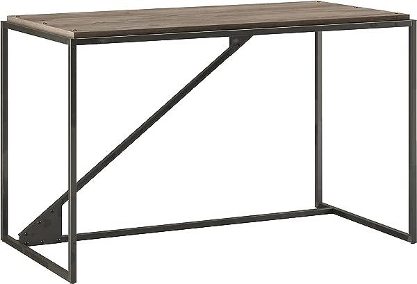 Bush Furniture Refinery 50W Industrial Desk In Rustic Gray