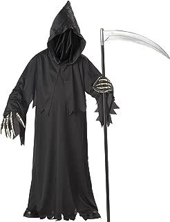 grim reaper costume boy