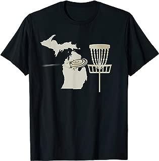 Disc Golf Michigan Retro Basket PIN Frolf Course Gear