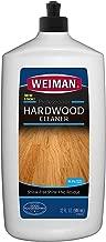 Weiman Hardwood Floor Cleaner - 32 Ounce - Non-toxic for Finished Hardwood Oak Maple Cherry Birch Engineered - Professional Safe Streak-free
