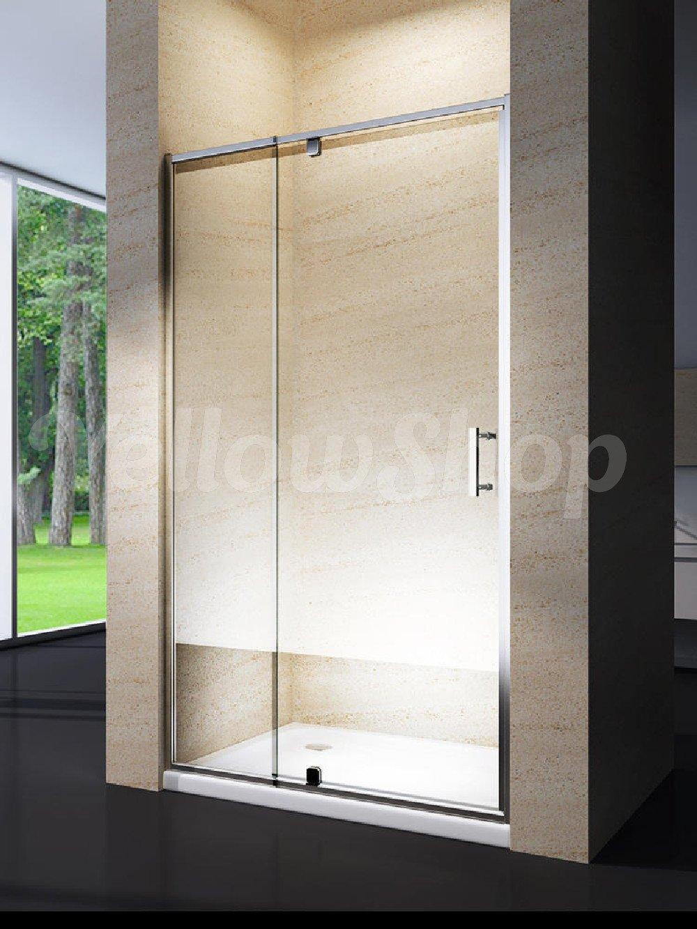 Yellowshop - Cabina de ducha con puerta corredera basculante y ...