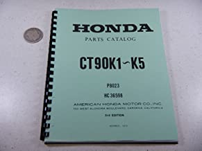 69-76 Honda CT CT Trail K1-K5 Parts Book Manual