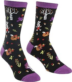 Sock It To Me, Women's Crew Socks, Forest Animals
