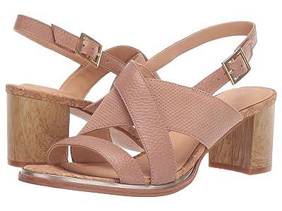 Clarks Ellis Tilda (Nude Leather) High Heels