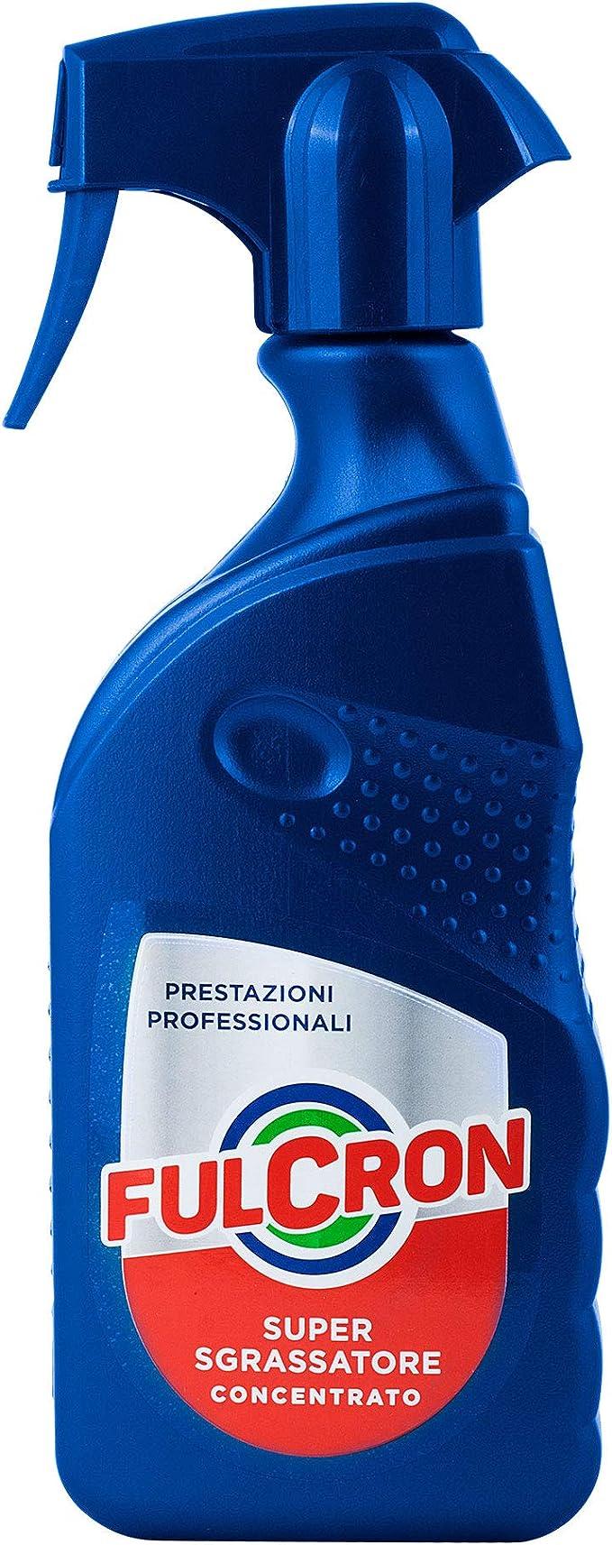 255 opinioni per Fulcron Sgrassatore Super Sgrassatore Concentrato 500 ml, spray sgassatore tutte