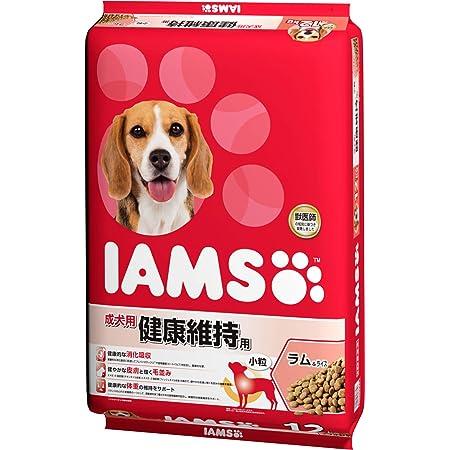 アイムス (IAMS) ドッグフード 成犬用 健康維持用 小粒 ラム&ライス 12kg