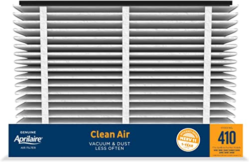 Aprilaire 410 Replacement Furnace Air Filter for Aprilaire Whole Home Air Purifiers, MERV 11, Clean Air Dust Furnace ...