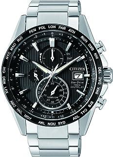 Citizen - Reloj Cronógrafo para Hombre de Energía Solar con Correa en Titanio AT8154-82E