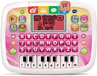 VTech Little Apps Tablet (Frustration Free Packaging), Pink, Great Gift For Kids, Toddlers, Toy for Boys and Girls, Ages 2, 3, 4, 5