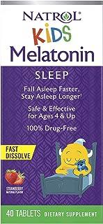 Natrol Kids Melatonin Fast Dissolve Tablets, Helps You Fall Asleep Faster, Stay Asleep Longer, Easy to Take, Dissolves in ...