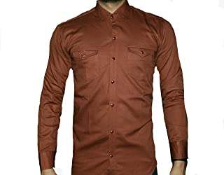 Tango and cash Men's DEINIM Shirt