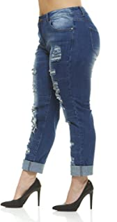 Best plus size distressed jeans Reviews