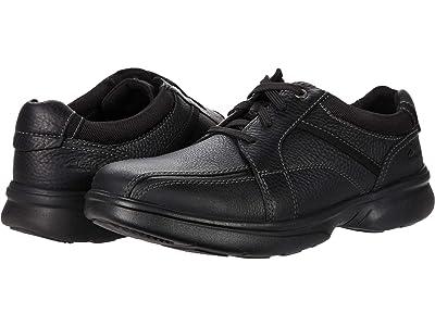 Clarks Bradley Walk (Black Tumbled Leather) Men