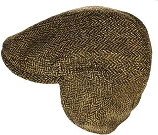 Biddy Murphy Men's Ear Flap Cap 100% Wool Tweed Made in Ireland