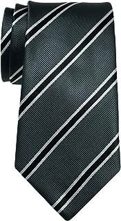 "Retreez British Bar Striped Woven Microfiber 3.15"" Men's Tie - Various Colors"