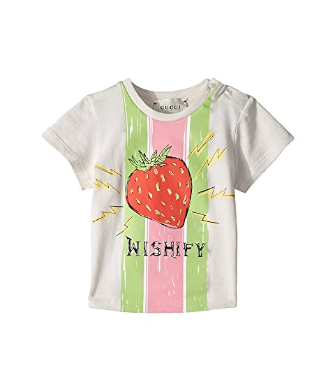 Gucci Kids Strawberry T-Shirt (Infant)