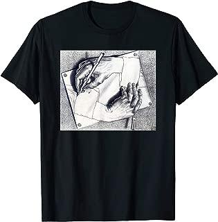 MC Escher Hand Drawing Hand T-Shirt - 2 Colors!