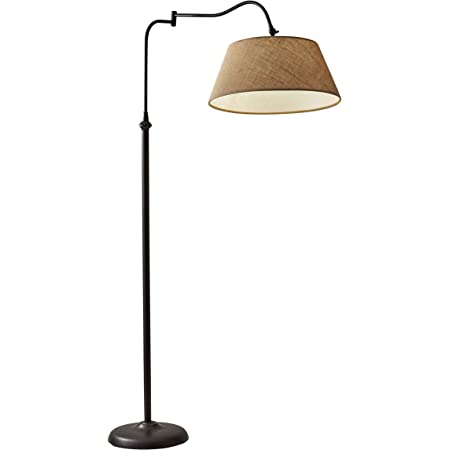 Adesso 3349 26 Rodeo Floor Lamp 61 In 150 W Incandescent Equiv Cfl Antique Bronze 1 Floor Lamp Amazon Com