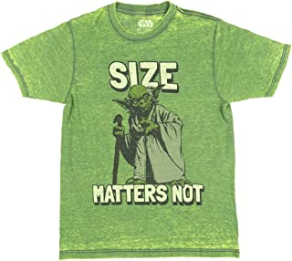 Star Wars Yoda Size Matters Not Licensed Graphic T-Shirt
