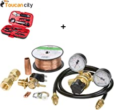 Toucan City Tool Kit (9-Piece) and Lincoln Electric MIG Conversion Kit with 1/4 in. Regulator with Gauge K2526-1