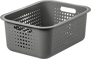 Panier de Rangement Plastique Recyclé 100% - Organisez Votre Maison avec Style - Tout en Respectant la Planète - Recycled ...