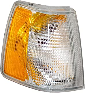 Passengers Park Signal Corner Marker Light Lamp Lens Replacement for Volvo 35186238 AutoAndArt