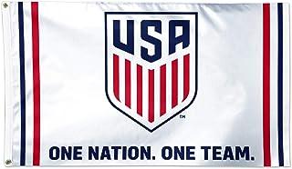 USA Men`s Soccer Team | USMNT | ONE Nation Licensed Flag | 5 x 3 ft