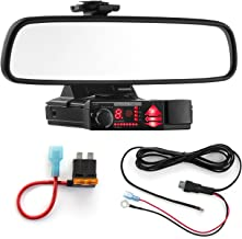 $41 » Radar Mount Mirror Mount Bracket + Direct Wire Power Cord + ATO Fuse Tap for Valentine V1 (3001304)