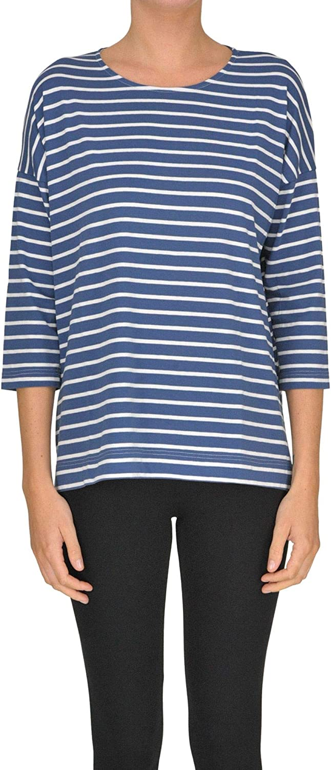 Shirt CZero Women's MCGLTPS000005151E bluee Cotton TShirt