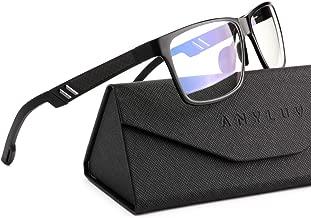 ANYLUV Blue Light Blocking Glasses Women Men - Computer Gaming Glasses,Anti Eyestrain,Al-Mg Metal Frame Ultra Light…