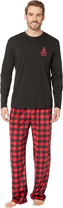 Buffalo Plaid Family Long Sleeve PJ Set