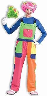 Forum Novelties Men's Clown Overalls Adult Costume