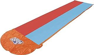 Bestway 52208 Pista Deslizante Hinchable H2O Go Doble Rojo/Azul, 549 cm