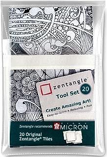 Zentangle Z20TWGB - Hojas colorantes para hacer abrecartas