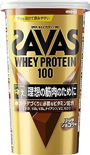 明治 ザバス(SAVAS) ホエイプロテイン100 リッチショコラ味【14食分】 294g
