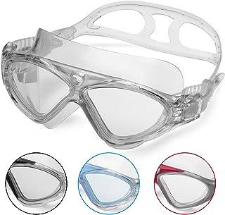 69a4992965 Gafas de Natación Profesional - Anti Niebla - Hermético - Ajustable - Gafas  de Natación Para