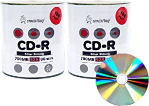 Best printable cd r 100 pack Reviews