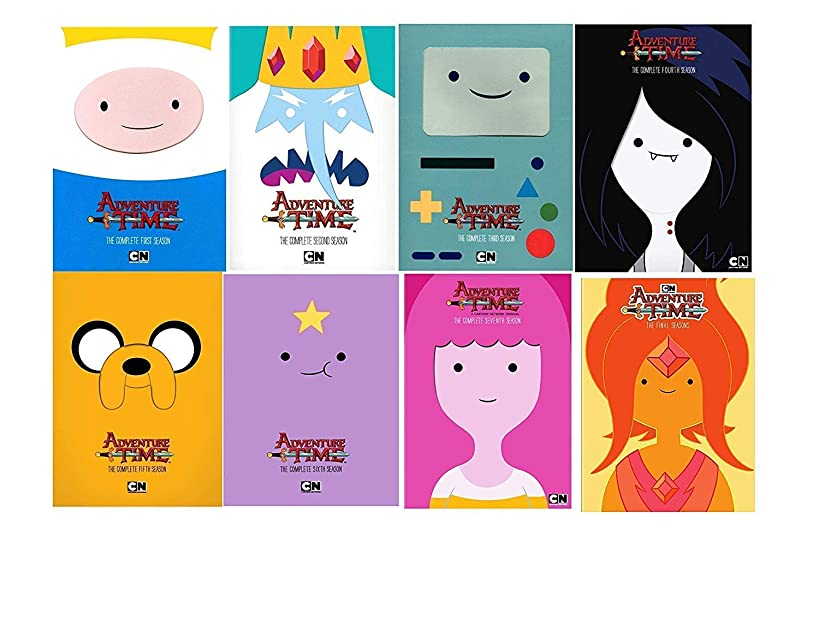 Cartoon Network: Adventure Time: The Complete Series Seasons 1-8 DVD