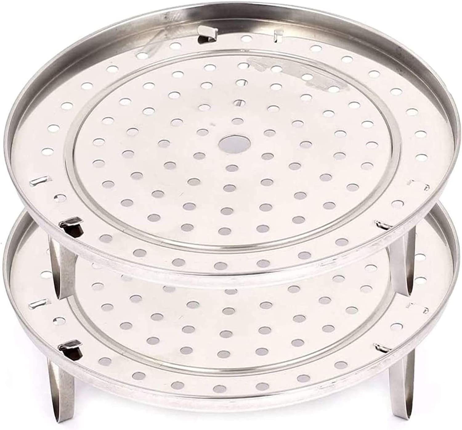 Stainless Steel Steamer Rack 2pcs - Steam Pot Stock Thick Insert Choice Shipping included