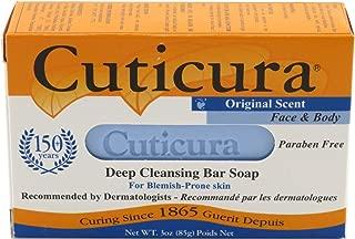 Cuticura Original Soap Bar 3 Ounce Box (88ml) (3 Pack)