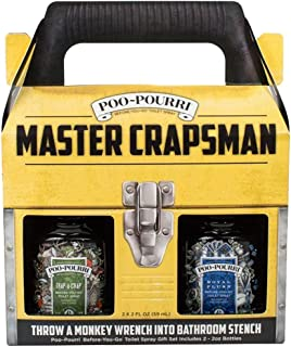 Poo-Pourri Master Crapsman 2-2 ounce Scent Box Set