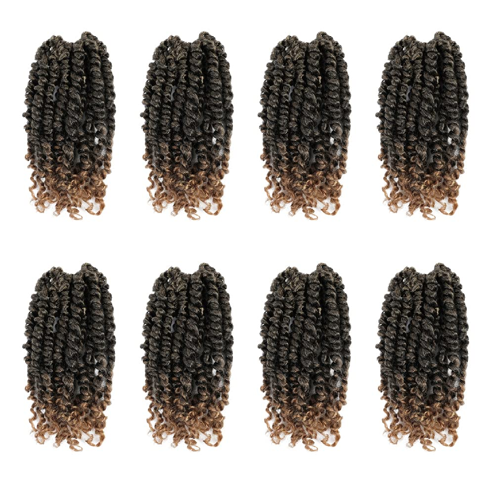 The BOHOBABE Pre-twisted Passion Twist Shor Finally resale start Hair Inch 10 Selling and selling Crochet
